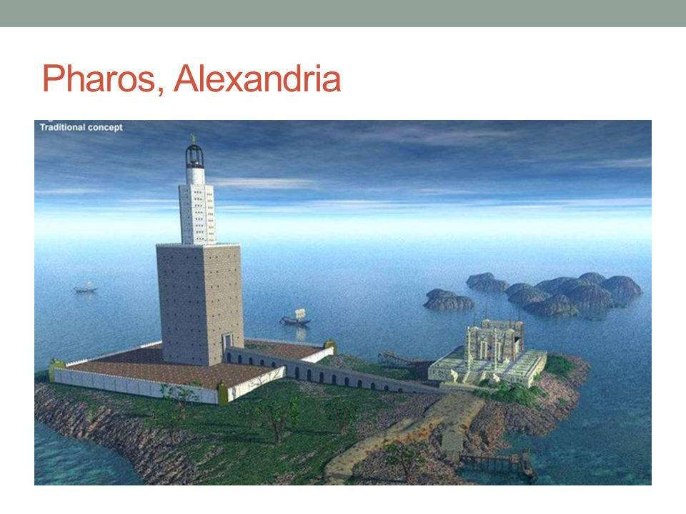Pharos, Alexandria