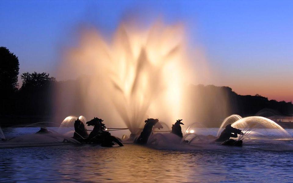 Versailles Fontaine de Neptune Βερσαλλίες - το σιντριβάνι του Ποσειδώνα