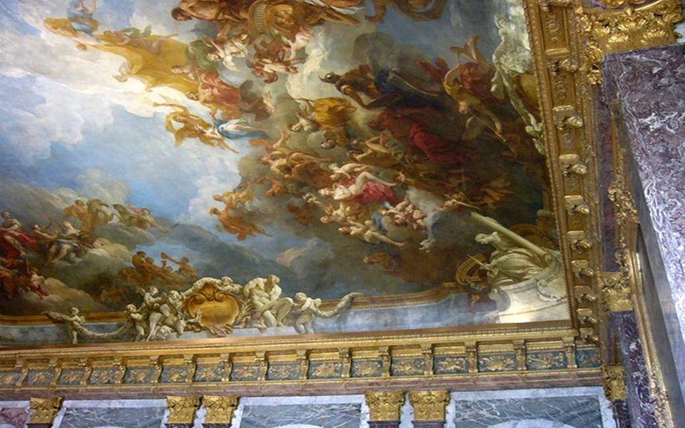 Chambre du Roi – Buste de louis XIV Η κάμαρα του Βασιλιά – Προτομή του Λουδοβίκου 14 ου