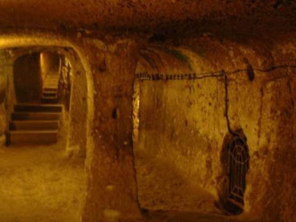 Για τις υπόγειες πόλεις αυτής της ζώνης, ο Έλληνας ιστορικός Ξενοφών αναφέρθηκε στο έργο του «Κύρου Ανάβασις».
