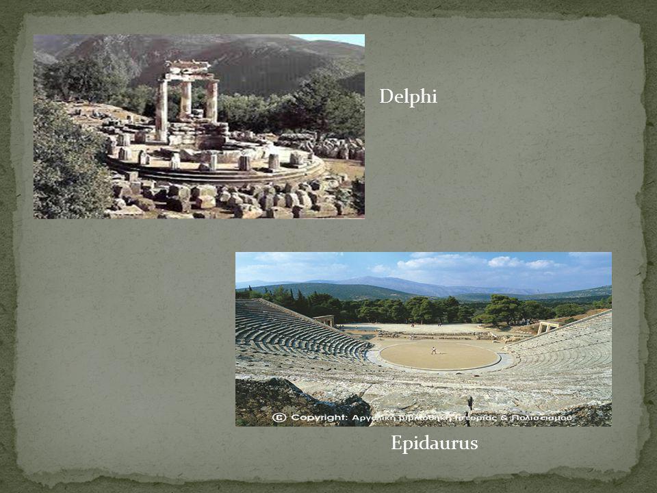 Epidaurus Delphi