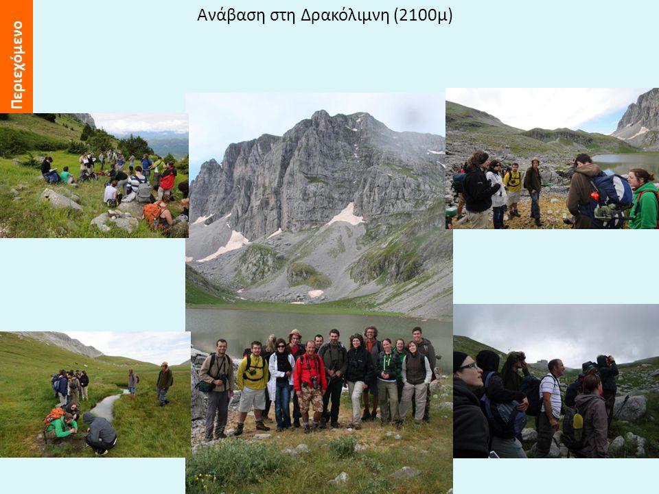 Περιεχόμενο Ανάβαση στη Δρακόλιμνη (2100μ)