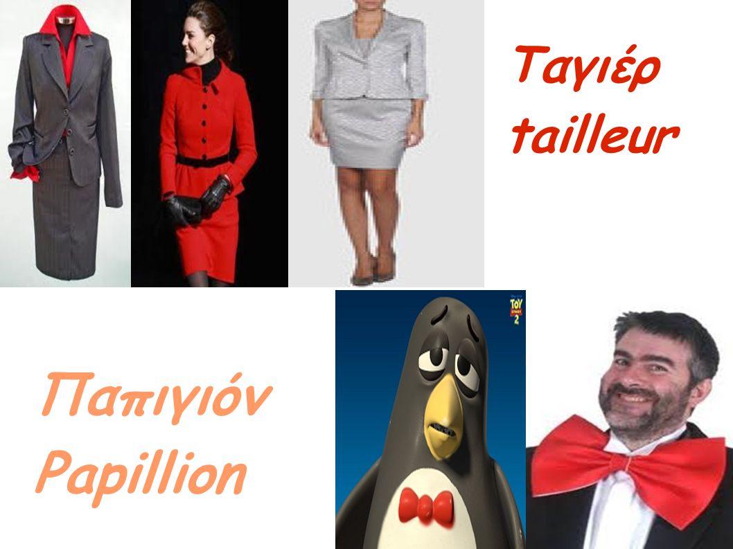 Παπιγιόν Papillion Ταγιέρ tailleur