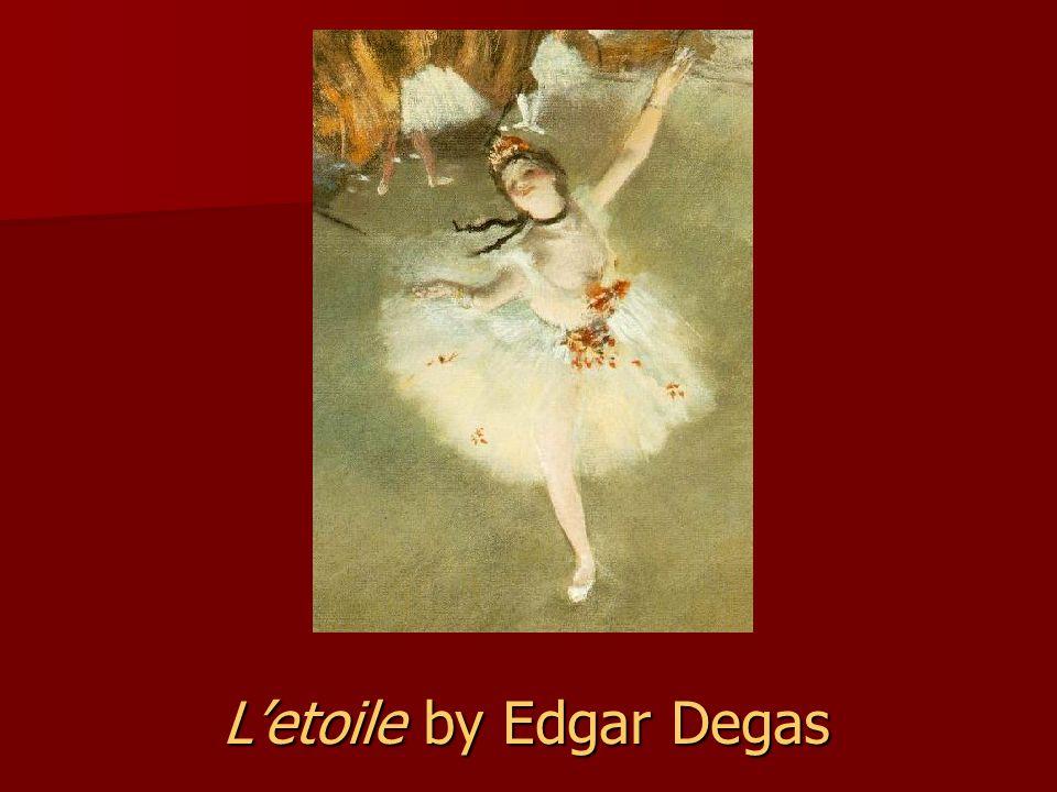 L'etoile by Edgar Degas