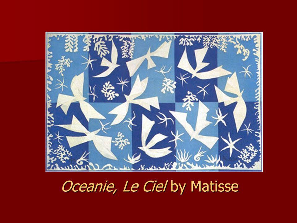 Oceanie, Le Ciel by Matisse
