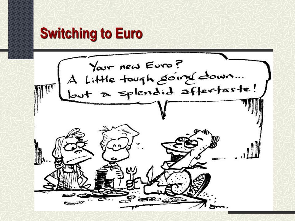 Switching to Euro