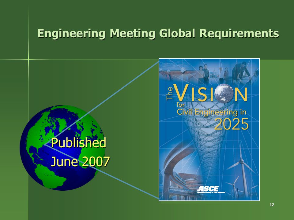 12 Engineering Meeting Global Requirements Published June 2007