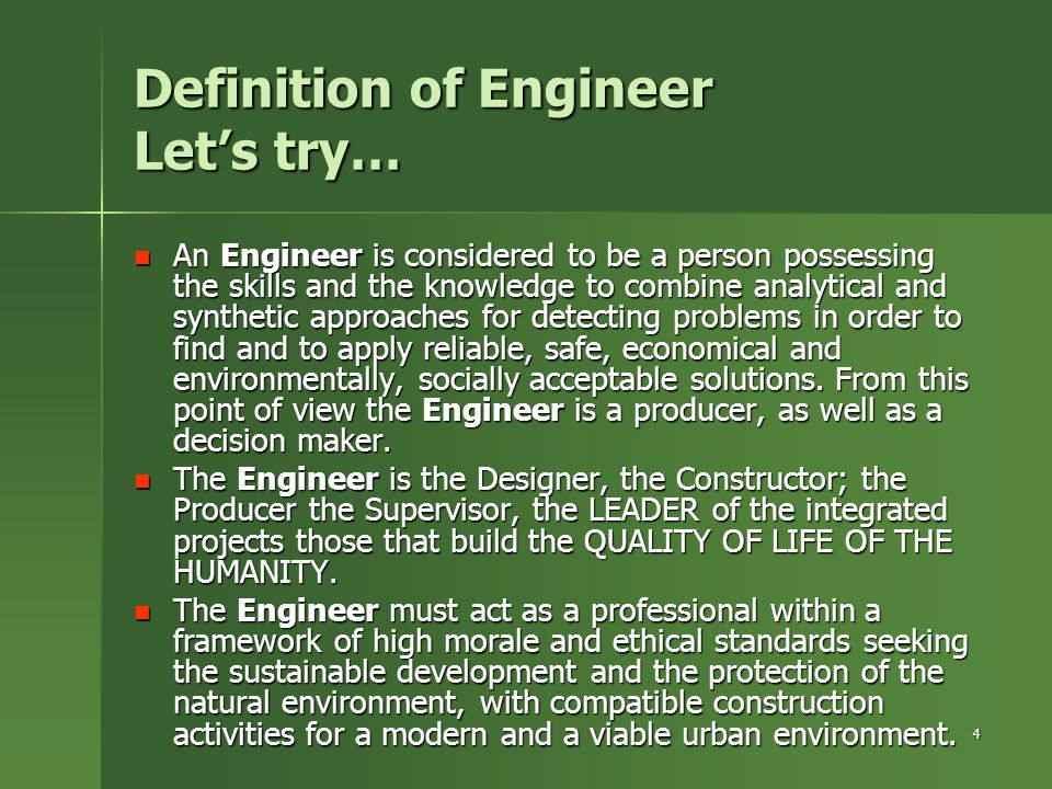 5 Eng Profession – Public Interest Character We explain and promote our Profession's Public Interest Character.