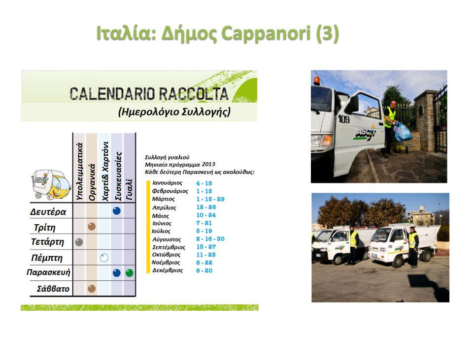 «Ινστιτούτο Περιβάλλοντος και Αειφόρου Ανάπτυξης» 20/02/2014, Λευκωσία, Κύπρος 36 Ιταλία: Δήμος Cappanori (3)