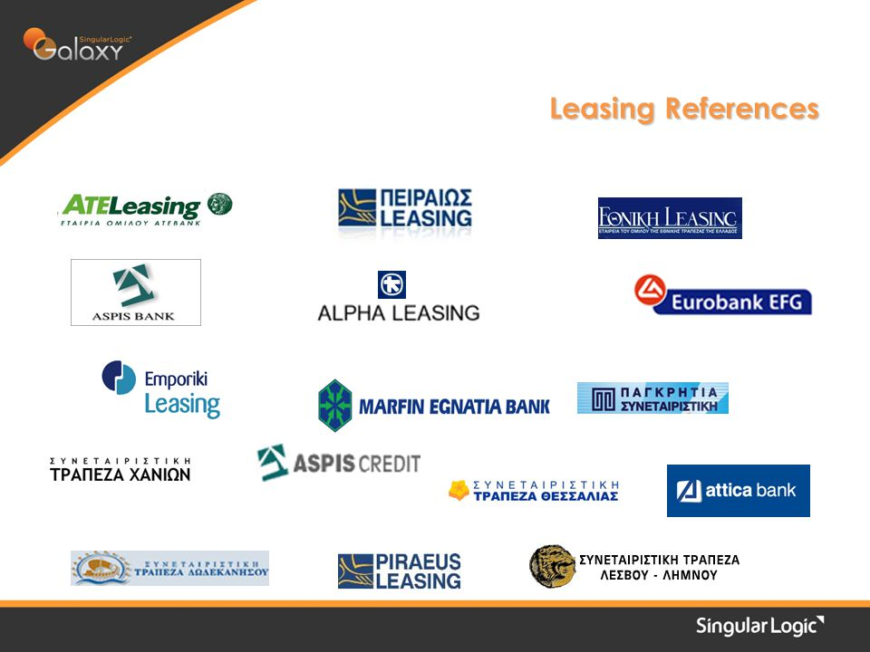 Leasing References
