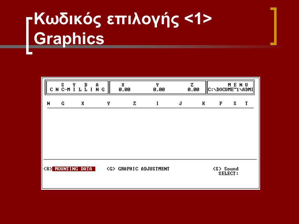 Κωδικός επιλογής Graphics