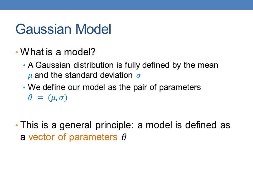 Gaussian Model