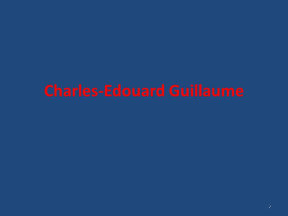 Βιογραφία Γεννήθηκε το 1861 στην Fluerier της Ελβετίας Βασική εκπαίδευση: Neuchâtel, Ελβετία Διδακτορικό: Πανεπιστήμιο Ζυρίχης Αξιωματικός στο βαρύ πυροβολικό 1883: Βοηθός στο Bureau of Weights and Measures 4