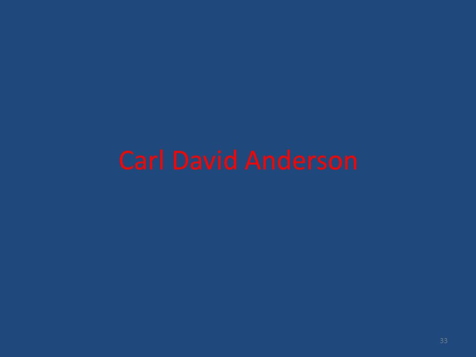 Carl David Anderson 33