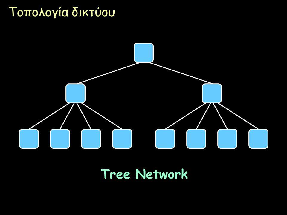 Page 25 Τοπολογία δικτύου Tree Network