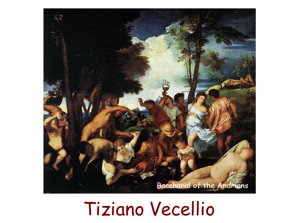 Tiziano Vecellio Bacchanal of the Andrians