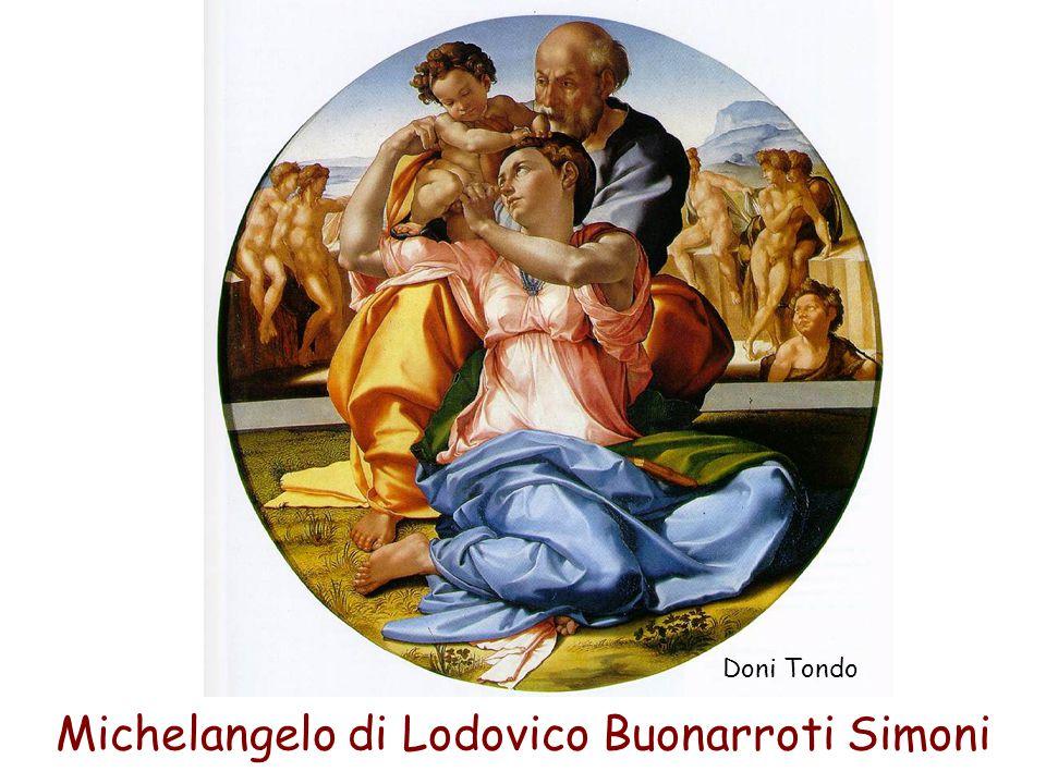 Michelangelo di Lodovico Buonarroti Simoni Doni Tondo