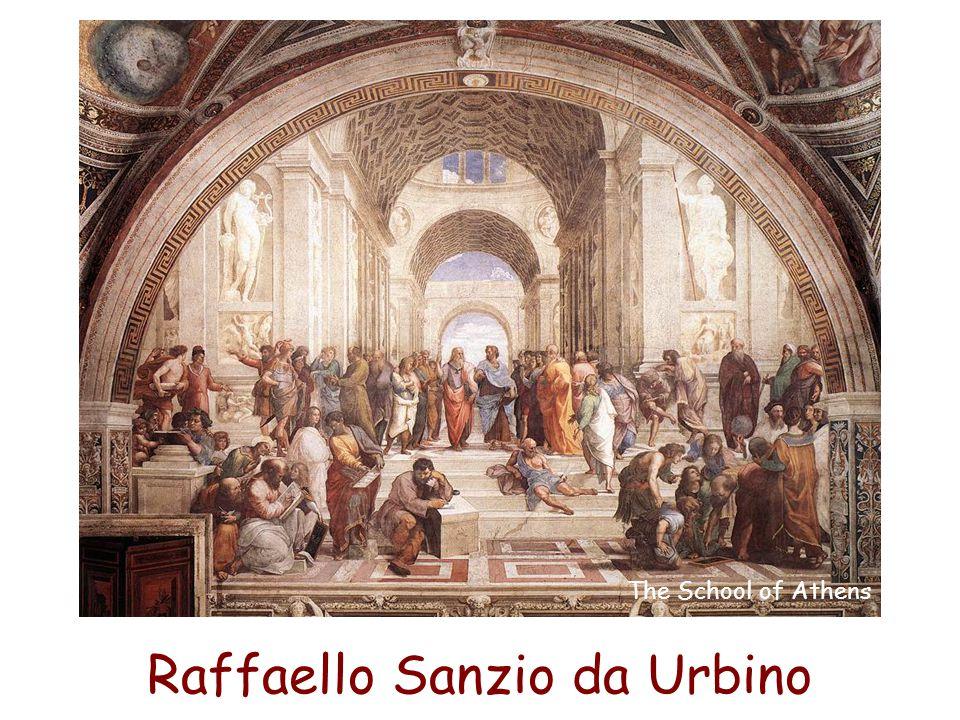 Raffaello Sanzio da Urbino The School of Athens