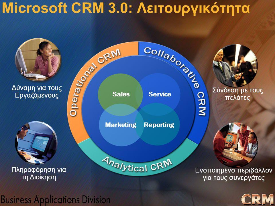 Microsoft Confidential 12 WWSMM 2000 Δύναμη για τους Εργαζόμενους Ενοποιημένο περιβάλλον για τους συνεργάτες Πληροφόρηση για τη Διοίκηση Σύνδεση με το