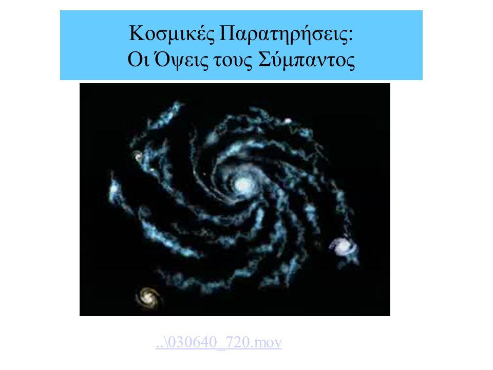 Κοσμικές Παρατηρήσεις: Οι Όψεις τους Σύμπαντος..\030640_720.mov