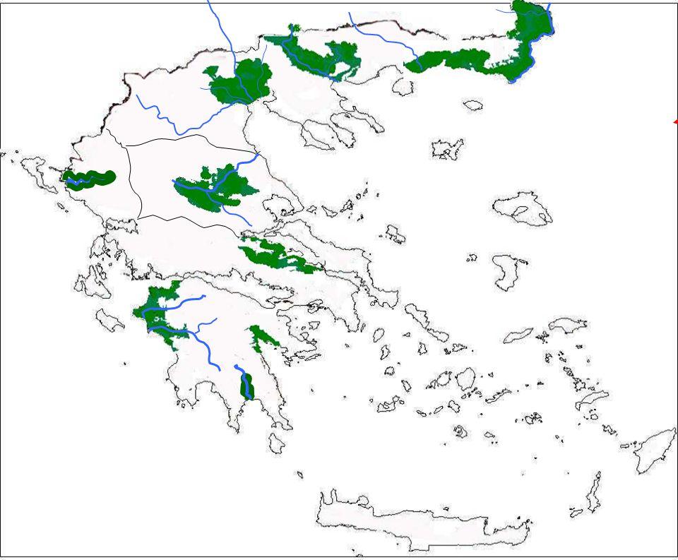 Κοιλάδα Πηνειού Κοιλάδα Αλφειού Κοιλάδα Ευρώτα Κοιλάδα Καλαμά
