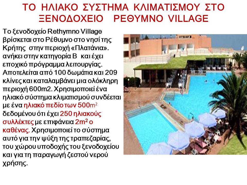 Το ξενοδοχείο Rethymno Village βρίσκεται στο Ρέθυμνο στο νησί της Κρήτης στην περιοχή «Πλατάνια». ανήκει στην κατηγορία Β και έχει εποχικό πρόγραμμα λ