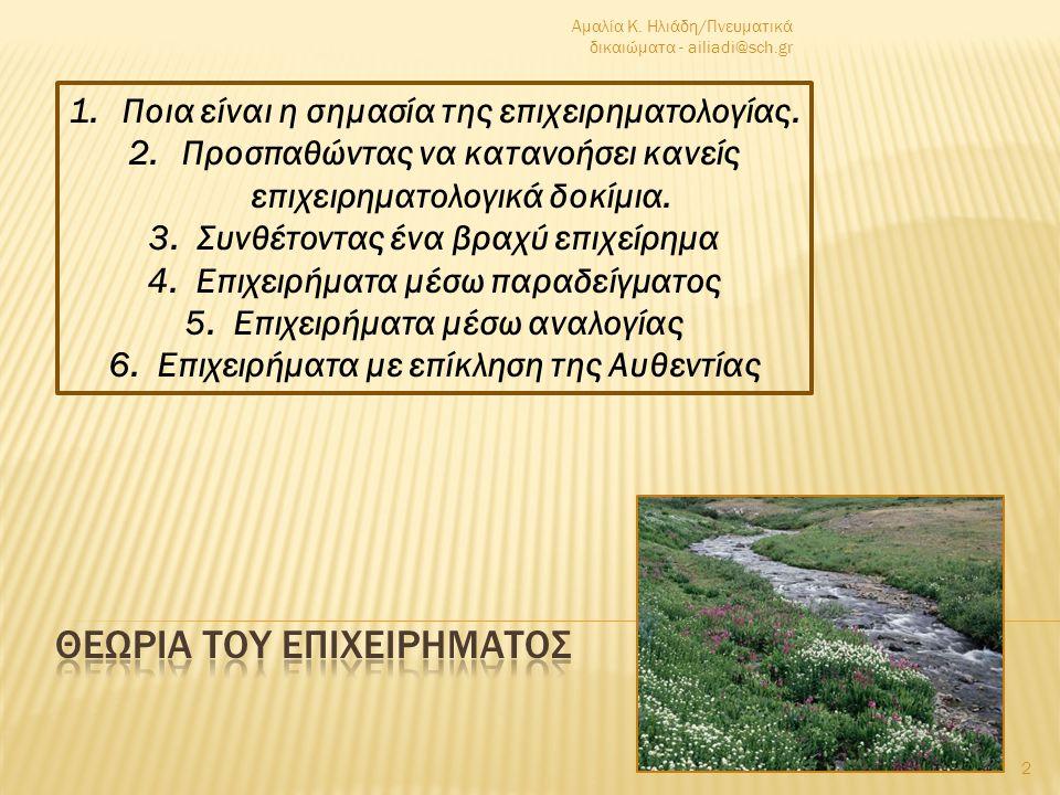 ΒΙΟΓΡΑΦΙΚΟ της Αμαλίας Κ. Ηλιάδη Γεννήθηκα στα Τρίκαλα Θεσσαλίας το 1967.