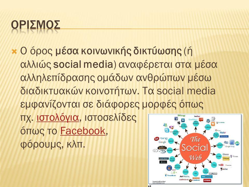  Το Twitter (Τουίτερ) επιτρέπει στους χρήστες του να στέλνουν και να διαβάζουν σύντομα μηνύματα (μέχρι 140 χαρακτήρες), (Tweets).