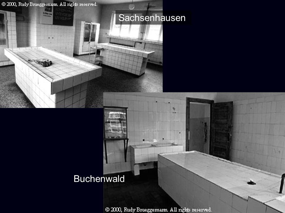 Sachsenhausen Buchenwald