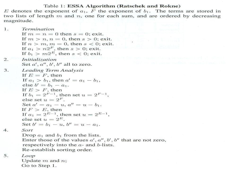 Ο Αλγόριθμος ESSA