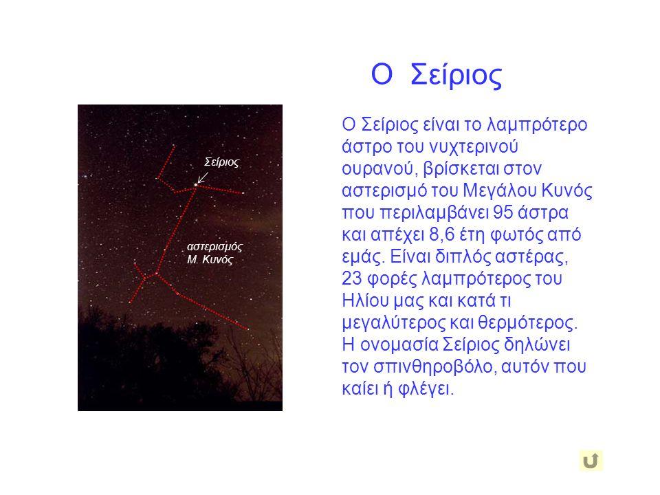 Οι Πλειάδες Οι Πλειάδες (η Πούλια) βρίσκονται 400 έτη φωτός μακριά από εμάς και αποτελούν ένα σμήνος που περιλαμβάνει πάνω από 2500 άστρα. Τα 7 κύρια