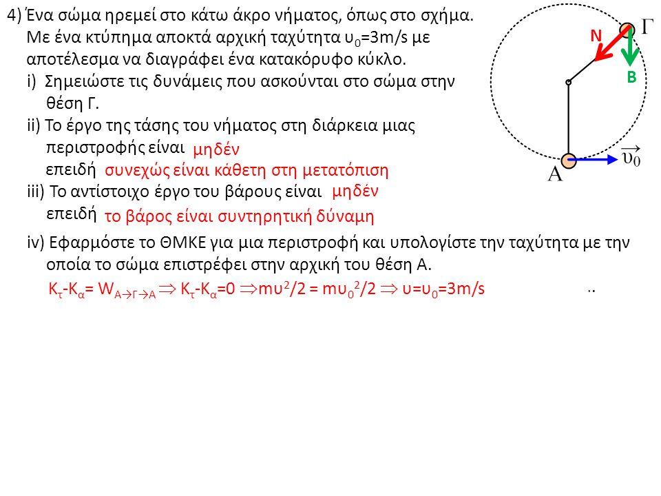 5) Ο σωλήνας του σχήματος βρίσκεται σε κατακόρυφο επίπεδο.