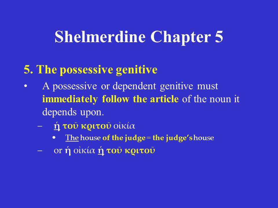Shelmerdine Chapter 5 5.