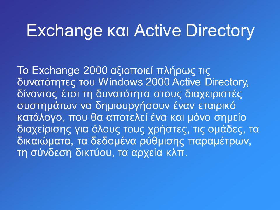 Ενεργοποίηση λογαριασμού (Exchange Tasks Wizard)