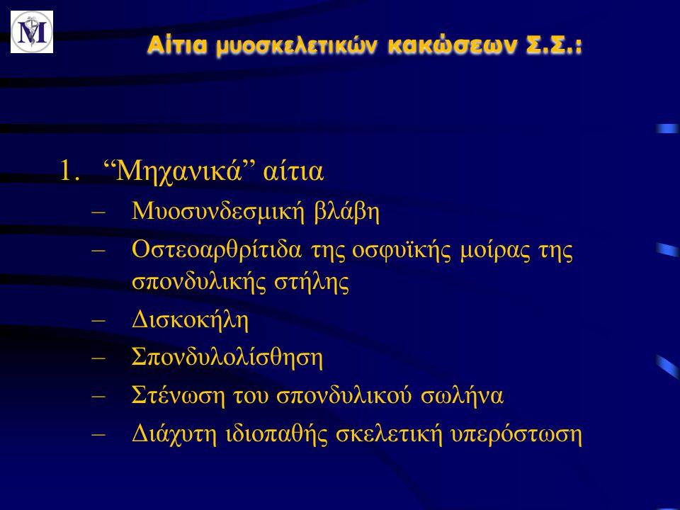 2.Οστεοπόρωση 3.