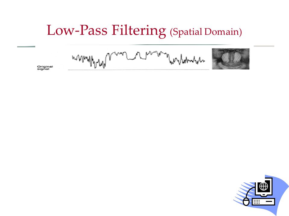 Low-Pass Filtering (Spatial Domain)