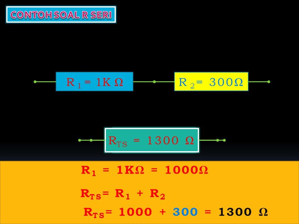 R 1 R 2 R TP 1/R TP = 1/R 1 + 1/R 2 +.......1/R n