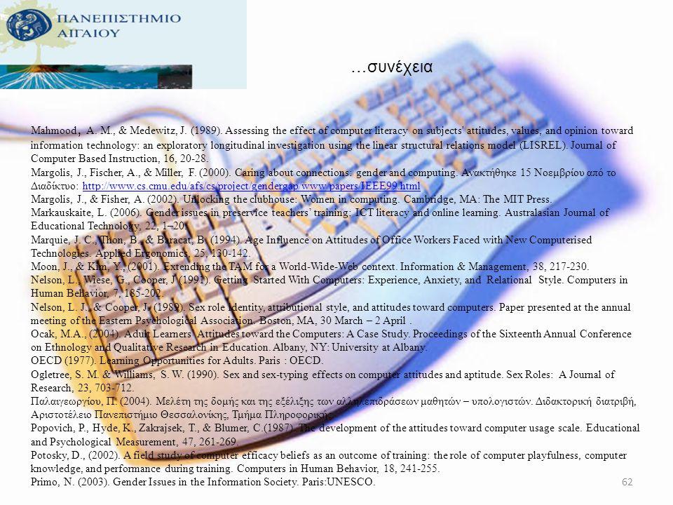 …συνέχεια Kόκκος, Α., Καραλής, Θ., Παληός, Ζ., (2006). Πρόγραμμα Εκπαίδευσης Εκπαιδευτών. Εκπαιδευτικό υλικό για τους εκπαιδευτές θεωρητικής κατάρτιση