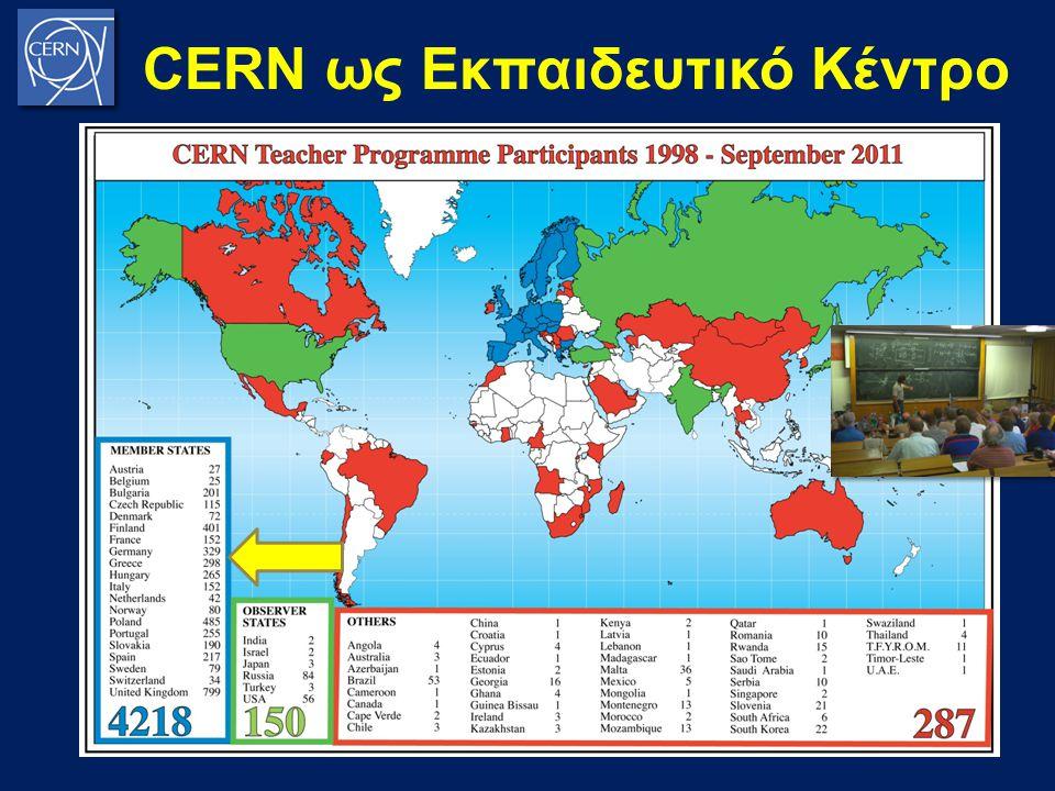 CERN ως Εκπαιδευτικό Κέντρο