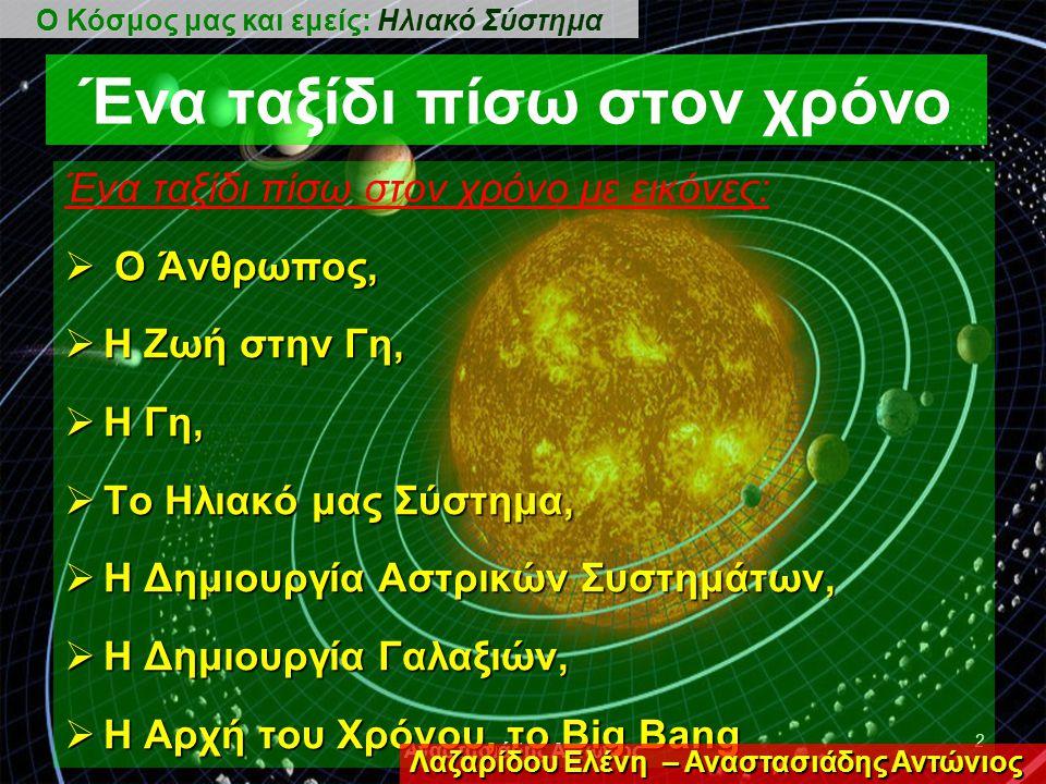 Αναστασιάδης Αντώνιος 1 Ερευνητική Εργασία 1η 1η 1η 1η Ομάδα ΝΤΟΥΣΝΙΚΟΥ Μανώλης ΑΘΑΝΑΣΙΑΔΗΣ Γιάννης ΛΑΖΑΡΙΔΗΣ Παναγιώτης ΜΙΚΡΟΠΟΥΛΟΣ Μιχάλης ΠΕΤΣΙΑΝΗΣ Ιορδάνης Ο Κόσμος μας και εμείς: Ηλιακό Σύστημα 2η 2η 2η 2η Ομάδα ΚΟΤΟΓΛΟΥ Χρυσή ΒΟΥΛΤΣΙΟΣ Κώστας ΜΑΡΚΟΠΟΥΛΟΣ Χριστόδουλος ΧΑΡΙΣΚΟΣ Λάζαρος Γιαννακόπουλος Γιάννης ΧΑΤΖΗΑΝΑΣΤΑΣΙΟΥ Απόστολος 3η 3η 3η 3η Ομάδα ΧΑΡΑΛΑΜΠΙΔΟΥ Ευαγγελία ΠΕΤΚΙΔΗΣ Γιώργος ΤΣΑΚΙΡΙΔΗΣ Στέφανος ΟΥΖΟΥΝΙ Έραλντ ΧΑΤΖΗΣΥΜΕΩΝΙΔΗΣ Γρηγόρης 4η 4η 4η 4η Ομάδα ΘΑΝΟΣ Θανάσης ΤΣΑΚΑΛΟΥ Αναστασία ΧΑΛΔΟΓΕΡΙΔΗΣ Γεώργιος ΠΑΠΑΔΟΠΟΥΛΟΣ Νίκος Γιόγιακας Παναγιώτης Π4 1 ο ΕΠΑΛ ΔΡΑΜΑΣ Λαζαρίδου Ελένη – Αναστασιάδης Αντώνιος