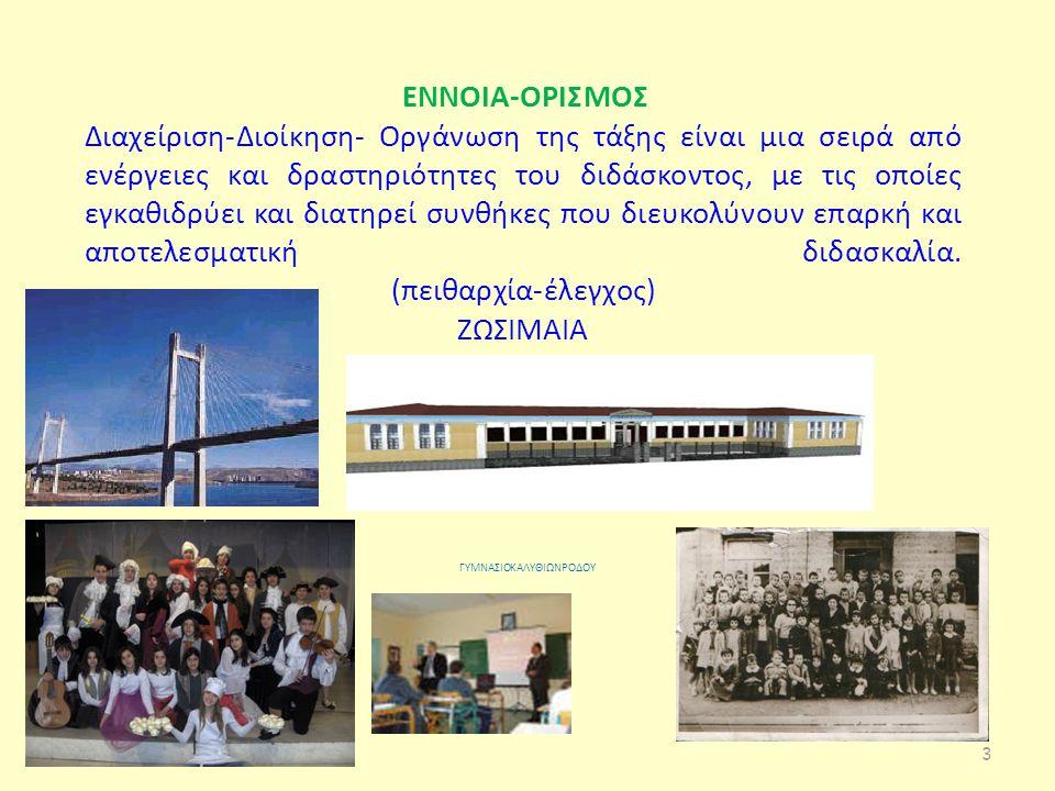 Διδακτικές αρχές Κέντρο διδασκαλίας οι ομάδες εργασίας των μαθητών.