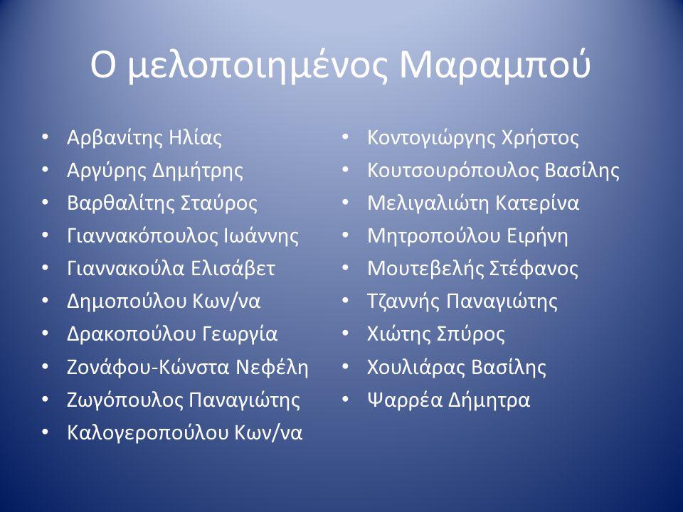 Δεκέμβριος 1977 Η Μαρίζα Κώχ μελοποιεί 8 ποιήματα : Η Μαρίζα Κώχ μελοποιεί 8 ποιήματα : Φάτα Μοργκάνα Φάτα Μοργκάνα Πούσι Πούσι Αρμίδα Αρμίδα Μουσώνας Μουσώνας Σταυρός του Νότου Σταυρός του Νότου Θεσσαλονίκη ΙΙ Θεσσαλονίκη ΙΙ Νανούρισμα Νανούρισμα Μαραμπού Μαραμπού