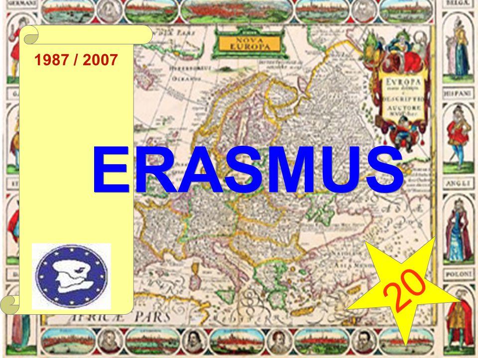 1987 / 2007 ERASMUS 20