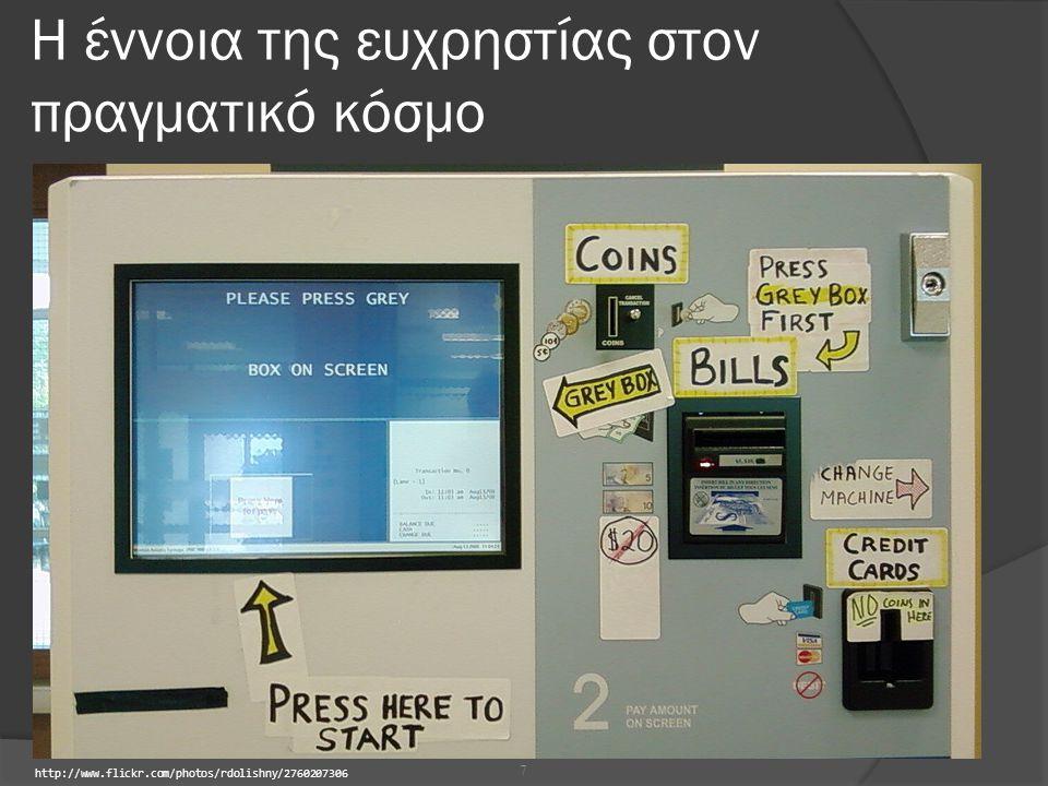 Η έννοια της ευχρηστίας στον πραγματικό κόσμο 7 http://www.flickr.com/photos/rdolishny/2760207306