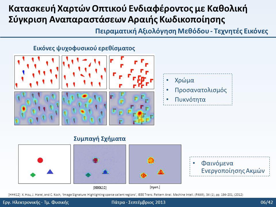 Εργ. Ηλεκτρονικής - Τμ. Φυσικής Πάτρα - Σεπτέμβριος 2013 06/42 [ΗΗΚ12] [προτ.] [HHK12] X.