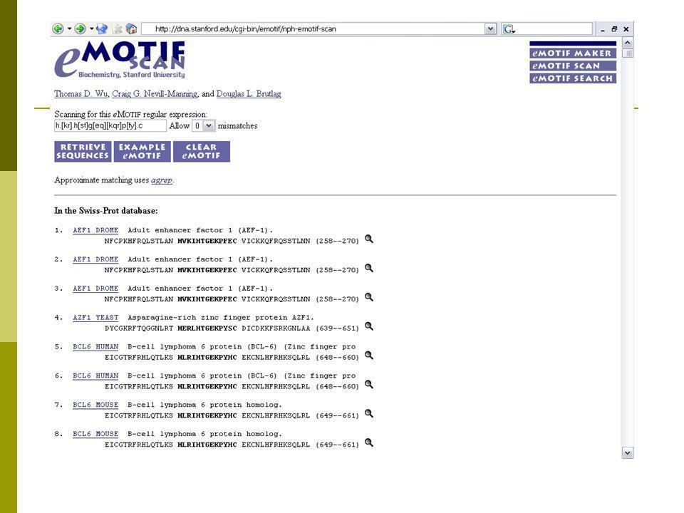 Hidden Markov Models α  HMM στατιστικό μοντέλο για ευθυγράμμιση ακολουθιών.