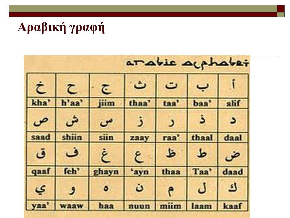 Αραβική γραφή