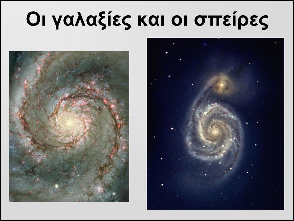 Οι γαλαξίες και οι σπείρες