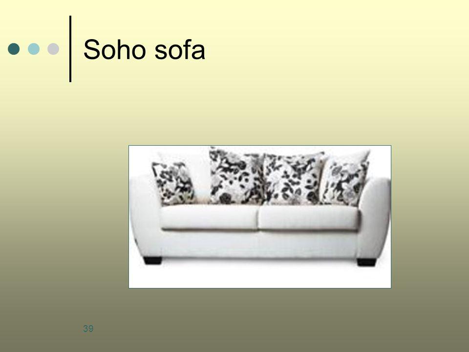 39 Soho sofa