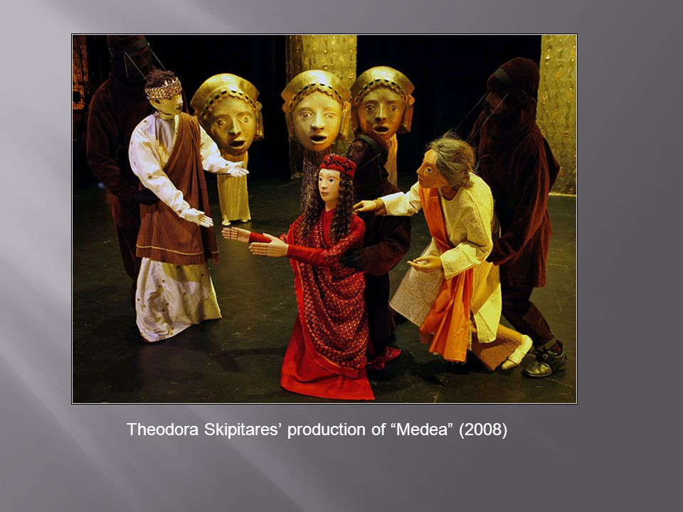 "Theodora Skipitares' production of ""Medea"" (2008)"